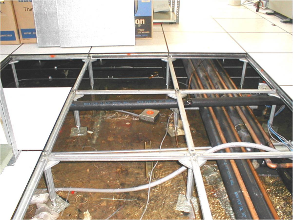 Disaster plan does your business have one for Elevated floor