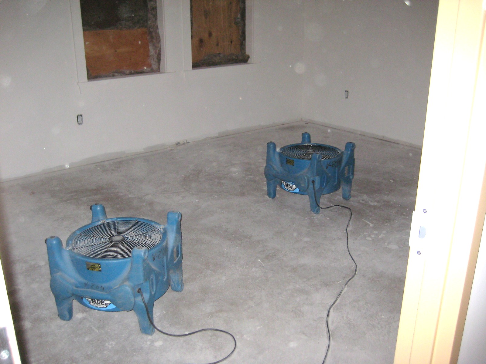 Wet Concrete Drying How To Dry