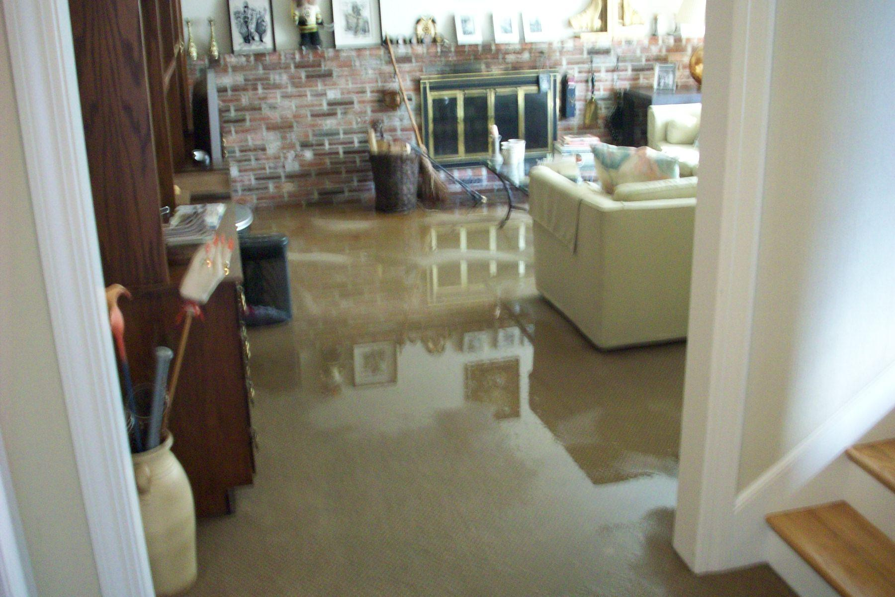 How To Dry A Flooded Basement Yourself - Best flooring for a wet basement
